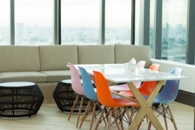 Office Fitouts Using Colour
