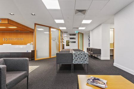 Hollywood orthopaedic reception fitout