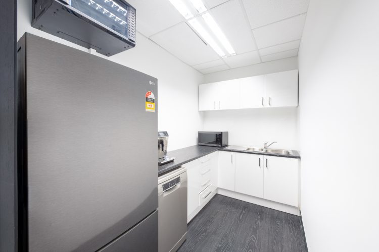 Full view of kitchen in Thermarate fitout