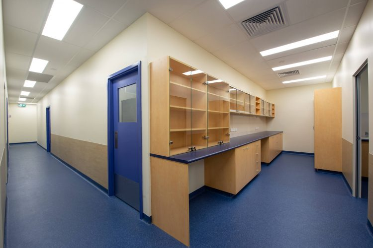 View of Consulting Rooms in the Vetwest Medical fitout